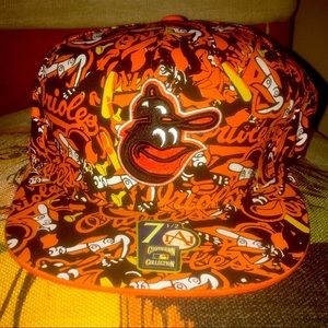 Cooperstown Baltimore Orioles Fitted